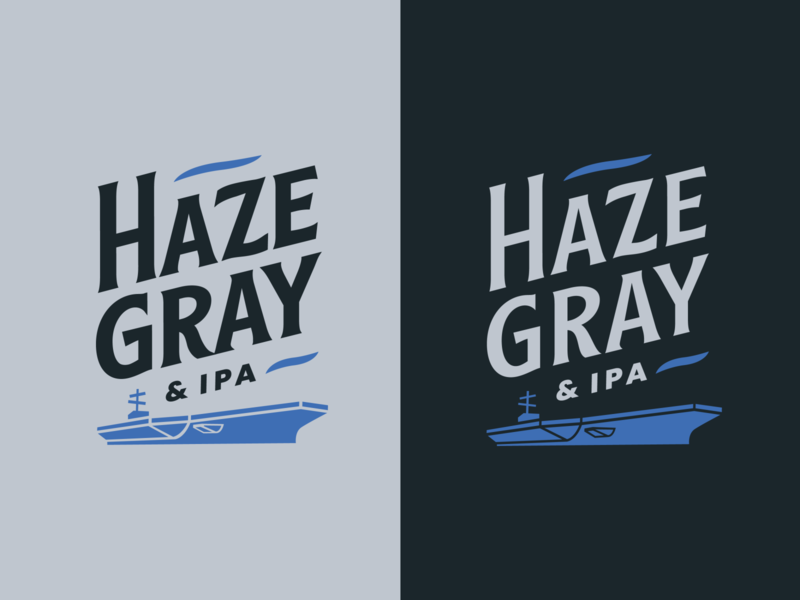 Haze Gray and IPA Logo