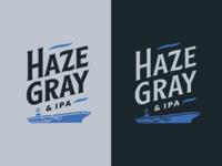 Haze Gray and IPA Logo