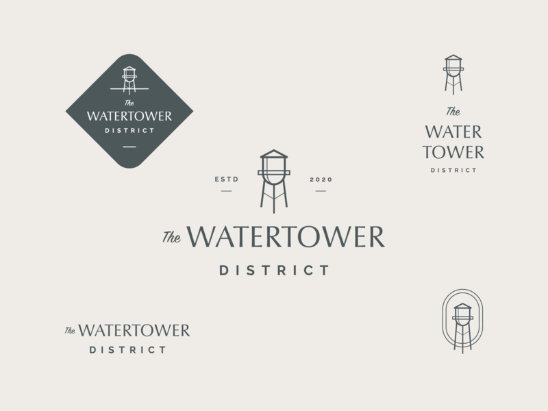 The Watertower District Logo