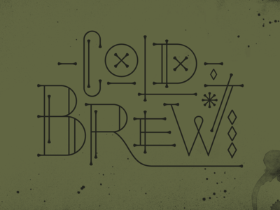Coffee Inspiration - Coldbrew
