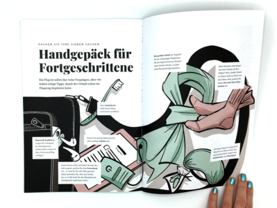 Editorial Illustration - Carry On Items procreate minimal travel travel creative inspiration design print design editorial illustration illustrator illustration