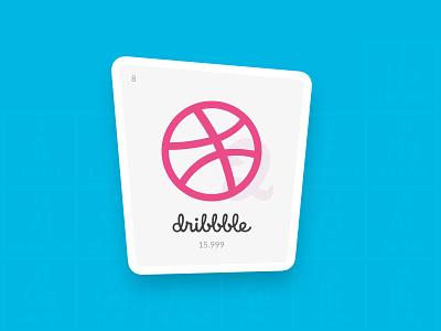 Playoff! Dribbble Sticker Pack contest illustration stckermule dribbble flat vector sticker design