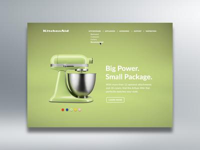 Landing Page — Daily UI #003