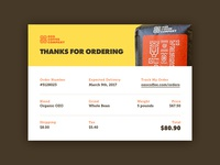 Email Receipt — Daily UI #017