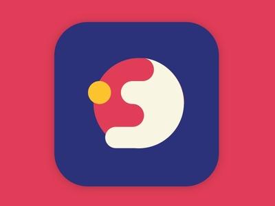 Fastball ios flat icon app