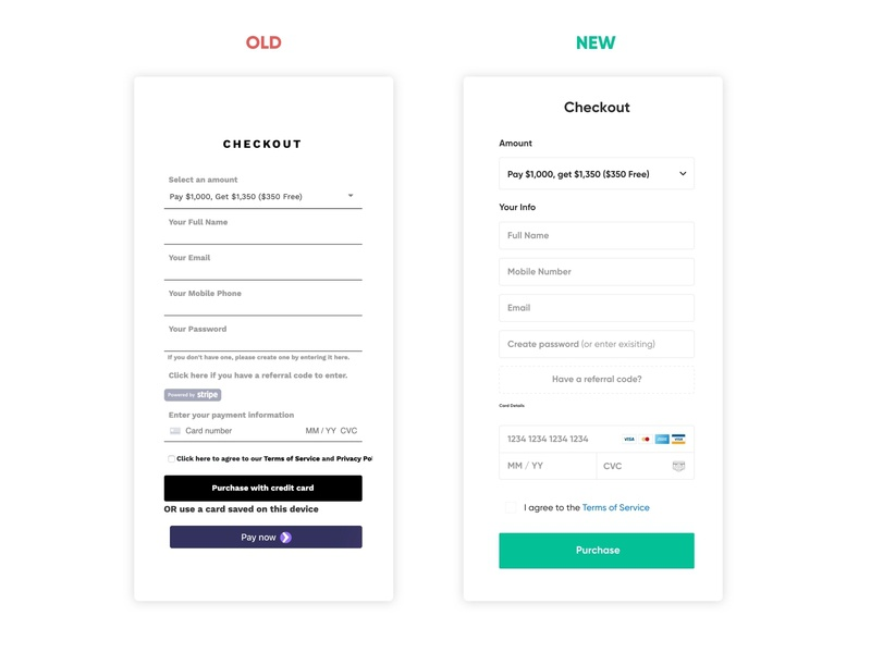 New Payment Form payment method payment form payments form visa card payment design mobile clean ux ui