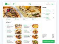 New Design for Bitesquad Ordering Platform