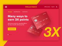 Wells Fargo Landing Page