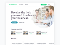 Seedlawyers Landing Page Concept