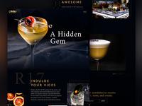 Speakeasy Website Concept