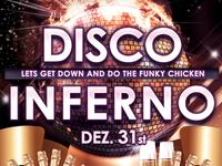 Disco Inferno Flyer