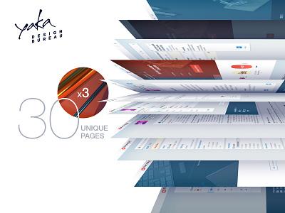 Recrutoid Kazakhstan   Hiring Service page hiring system graphic branding platform clean interface service 3d illustration app site bureau yaka interface ui ux presentation design