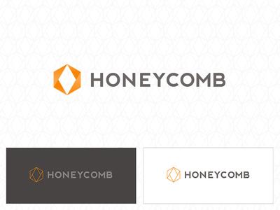 Honeycomb - Identity beehive bees honeycomb logo identity branding