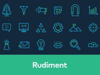 Rudiment icons