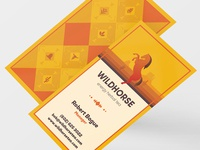 Wild Horse Tea: Business Card v2