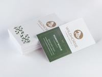 Wild Horse Tea: Business Card v1