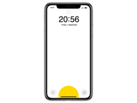 iOS x Swiss Style : Lockscreen
