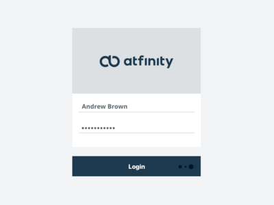atfinity - Login Screen frey fabian zurich sign in username signup login atfinity