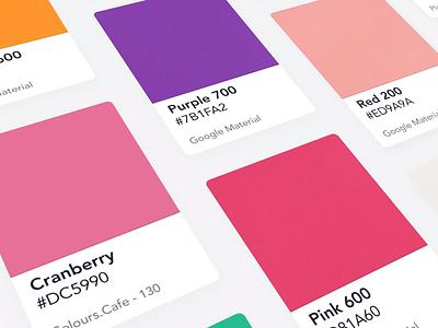 CLR Library invite zurich mobile ui pantone colors colours color download free freebie file design frey fabian fabi figma library clr