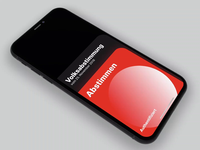 Swiss Voting System invision animation white usa politics switzerland abstimmung vote democracy voting black swissstyle swiss red frey fabian ux ui mobile ios