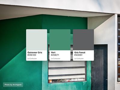 Le Corbusier Colours mobile paint color palette ux frey fabian figma sale gratis free library kit ui design painting architectural architecture corbusier colours
