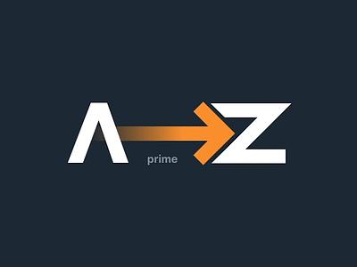 Amazon Prime Logo studio invision vector typography animated motion az mark strategy ux ui design zürich frey fabian branding brand logo prime amazon