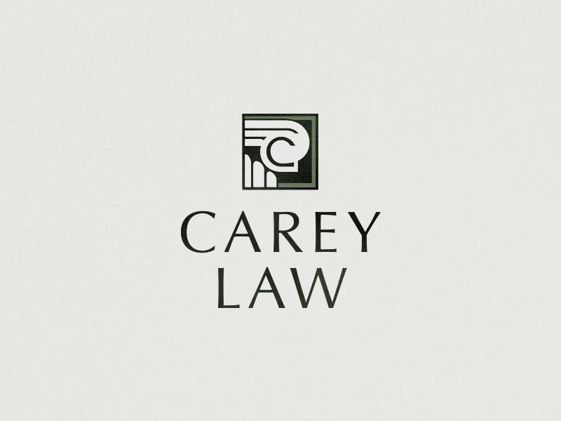 Carey Law Logo by Jake Stephenson on Dribbble