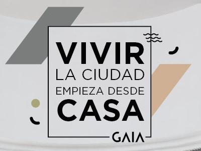 GAIA branding logo graphic design