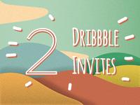 Dribbble Invites! (Read description before sending your work)