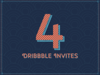 4 Dribbble Invites! (Important: READ!)