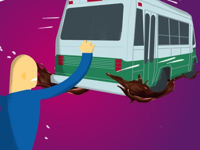 Bus is leaving!