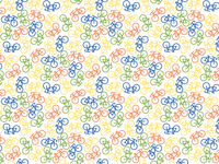 Repeating Bike Pattern
