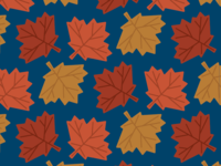Fall Leaves Pattern 2