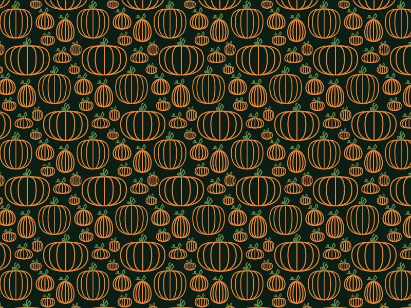 Pumpkin outline 06