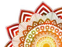 Fiery Mandala