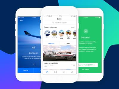 PlanesOnly - iOS Redesign fargo thiken redesign app ios planesonly