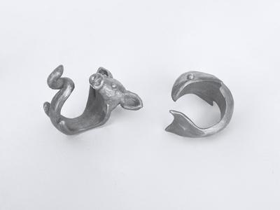 Silver Animal Rings