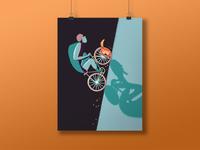 Bike & Cat