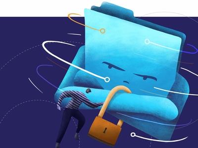 Illustration: Digital Rights Management on the Blockchain