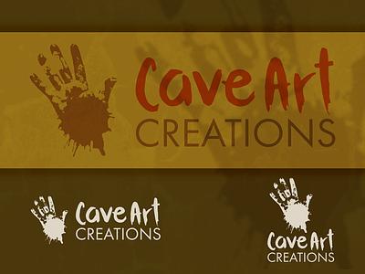 Logo Caveart Creations branding mark logo