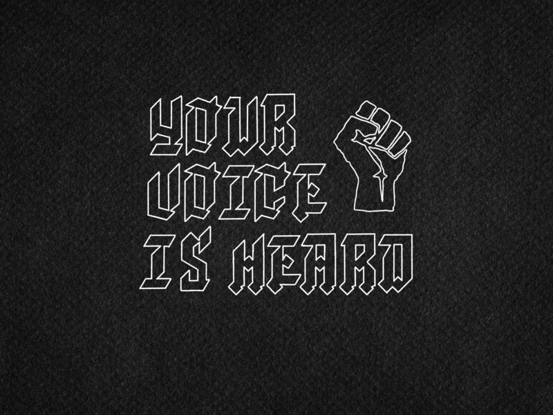 Tu lucha es mi lucha. drawing hand type illustration custom type wordmark custom type typography lettering handtype blacklivesmatter