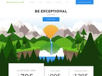 BambooHR Summit 2018 Website user conference event summit parallax mountains service agenda utah snowbird price layout website