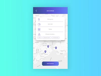 Expense Control - App Concept - Screen #1