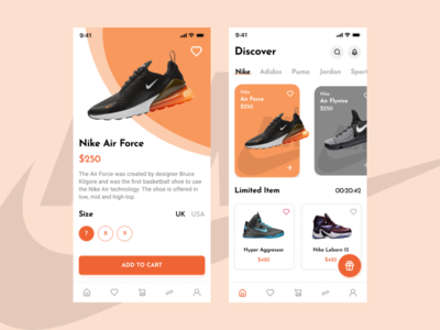 Mobile Apps - Shoe Store