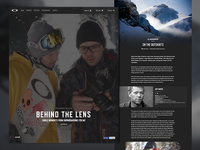 Behind The Lens - Feature Article