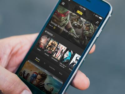 IMDb App Redesign Concept 2014