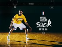 Stance nba dribbble attachment