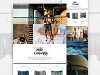 Stance Underwear Landing Page