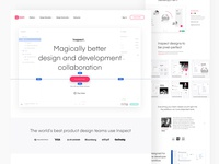InVision's Inspect - Design and development collaboration tool.