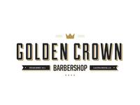 Golden Crown Barbershop logo